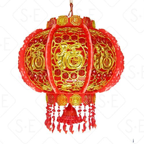 LED炫彩旋轉燈籠(福字)