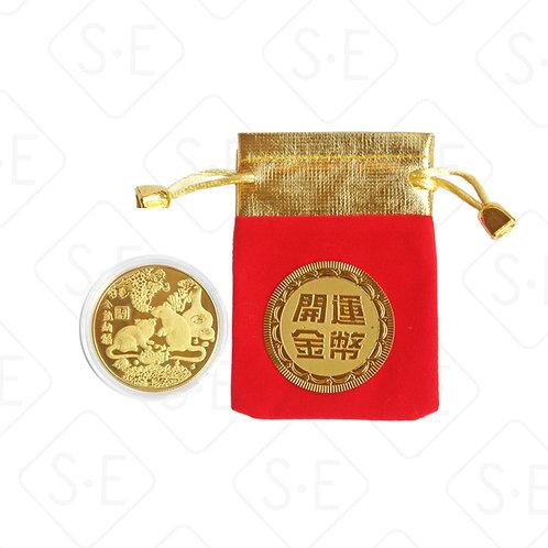 開運招財錢母金幣 | 勝億紙藝品新年擺件行批發零售