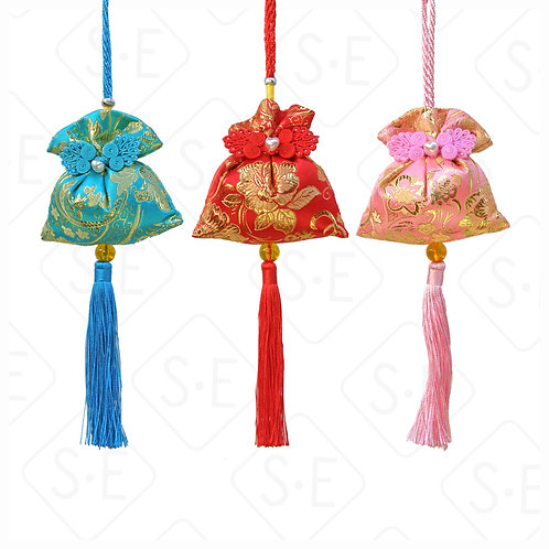 絲綢香包小吊飾