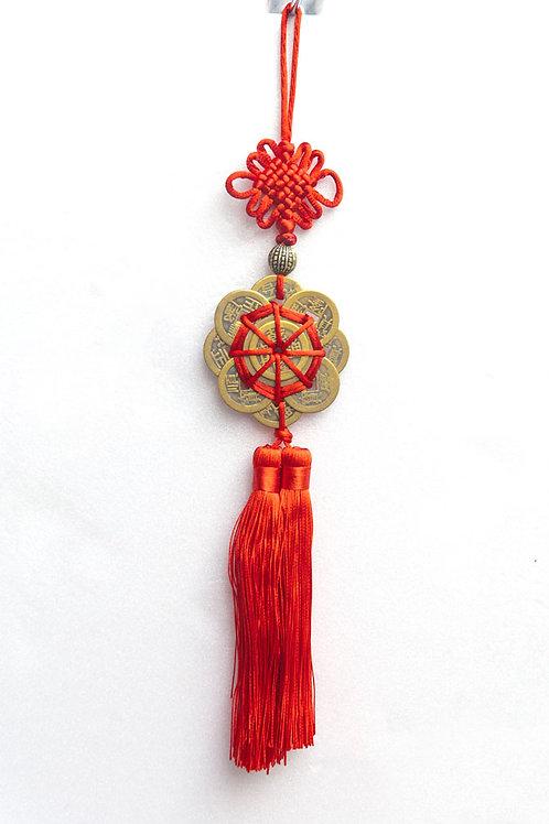 中國結五帝錢吊飾