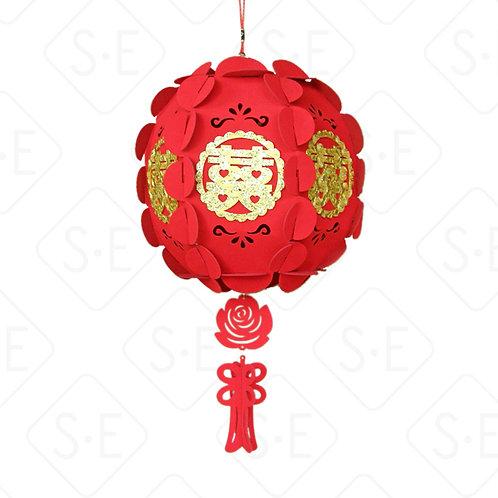吊掛裝飾仿古燈籠彩球裝飾品    勝億紙藝品行造型燈籠批發零售