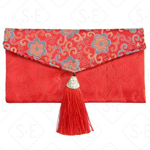 絲綢祝壽滿月喜慶紅包 | 勝億紙藝品行高檔絲綢紅包批發零售