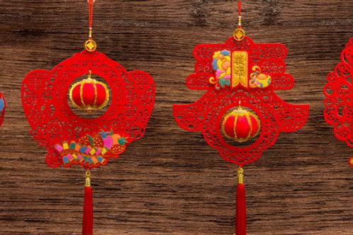 EVA彩金+燈籠吊飾
