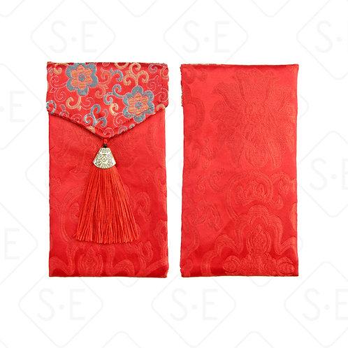 絲綢祝壽滿月喜慶紅包   勝億紙藝品行高檔絲綢紅包批發零售