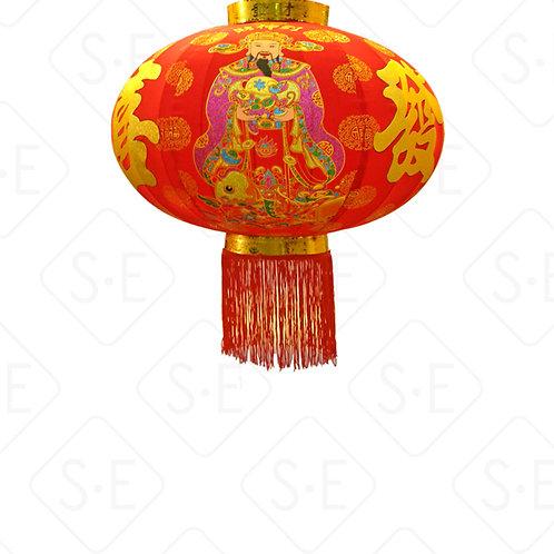 室內外大紅燈籠-財神到 | 勝億紙藝品行燈籠燈飾批發零售