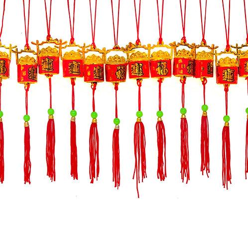 銀柳小吊飾(錢桶)3104