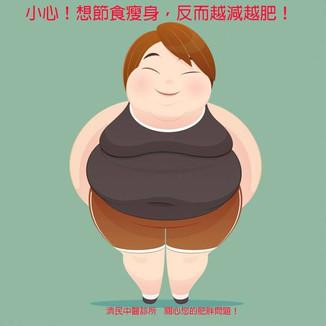 錯誤減肥法注意