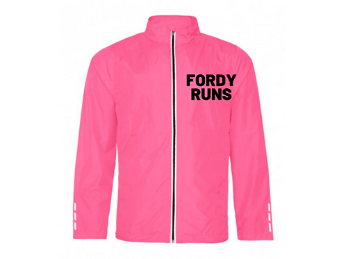 FORDY RUNS JACKET BLACK