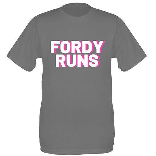 FORDY RUNS LADIES PINK 3D
