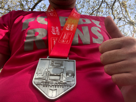 The hottest London Marathon ever!