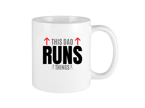 THIS DAD RUNS MUG
