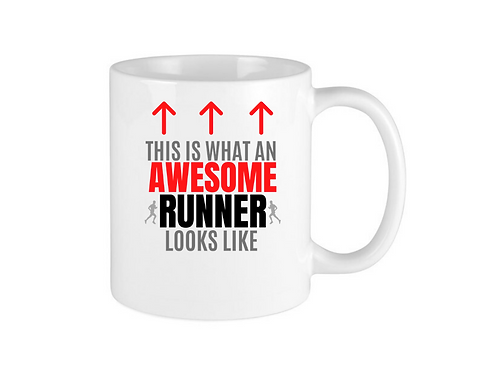 AWESOME RUNNING MUG