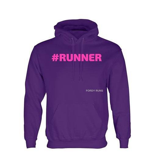 #RUNNER HOODIE