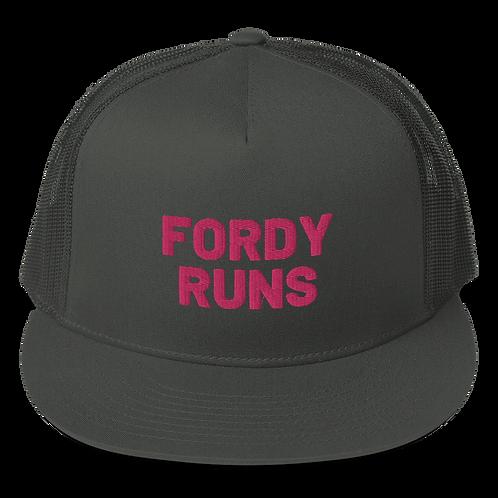 FORDY RUNS 3D Mesh Back Snapback