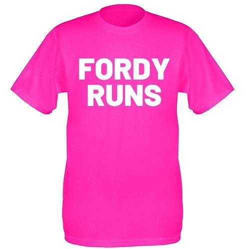 FORDY RUNS TECH TOP WHITE