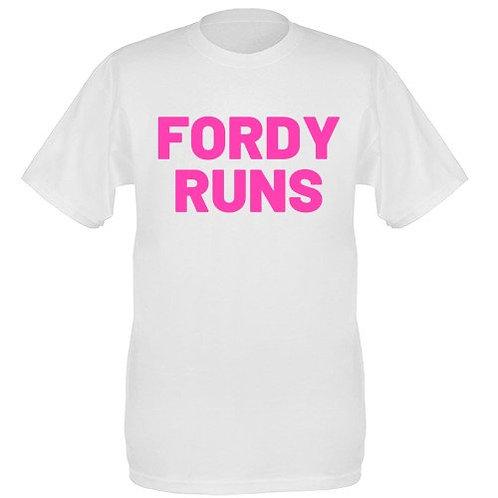 FORDY RUNS LADIES TOP PINK