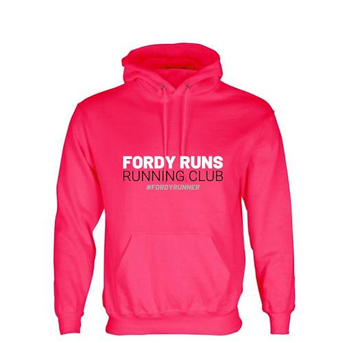 FORDY'S RACE DAY HOODIE PINK