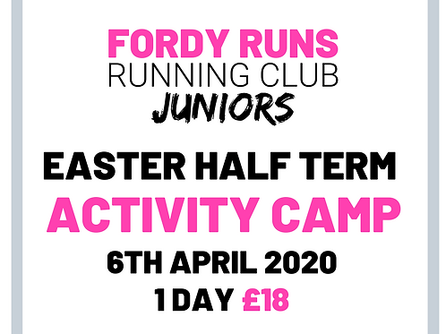 JUNIOR CAMP 1 DAY 6TH APRIL 2020