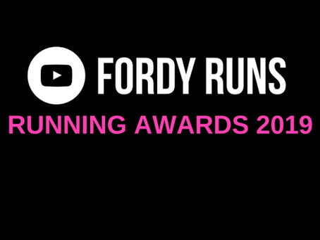 Fordy Runs Running Awards 2019