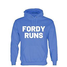 FORDY RUNS HOODIES