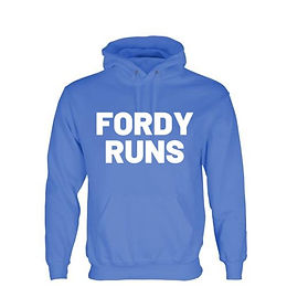 FORDY RUNS HOODIES