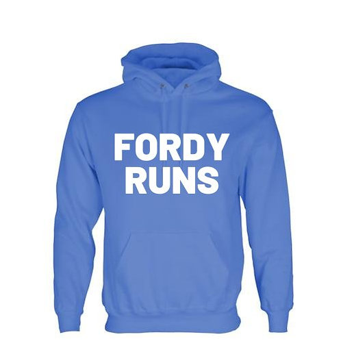 FORDY RUNS HOODIE WHITE