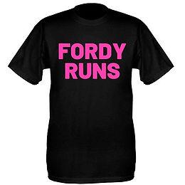 FORDY RUNS TECH TOPS