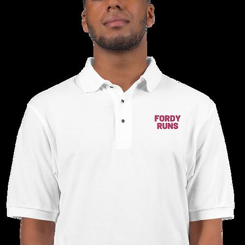 FORDY RUNS Premium Polo