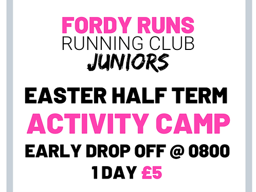 JUNIOR CAMP EARLY DROP OFF 1 DAY