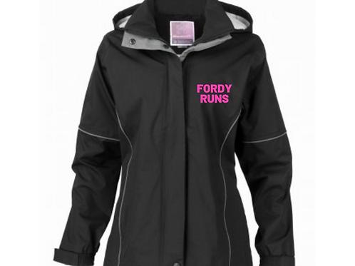 FORDY RUNS Waterproof Ladies Jacket