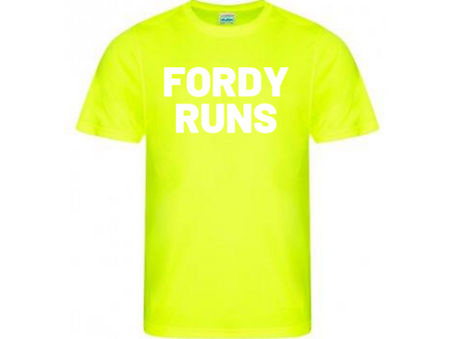 FORDY RUNS TEMPO TECH TOP LADIES