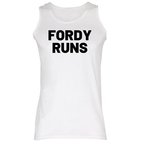 FORDY RUNS TECH VEST BLACK