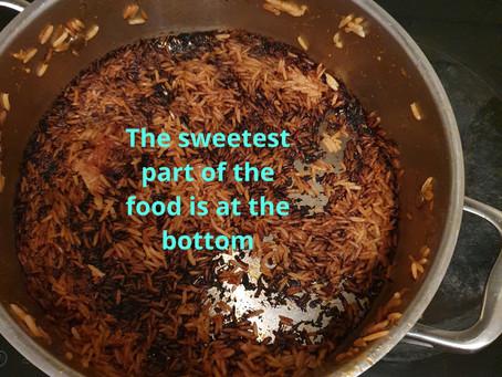 Bottom pot - a childhood favourite