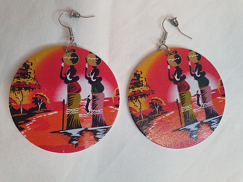Ear ring - Mother Africa