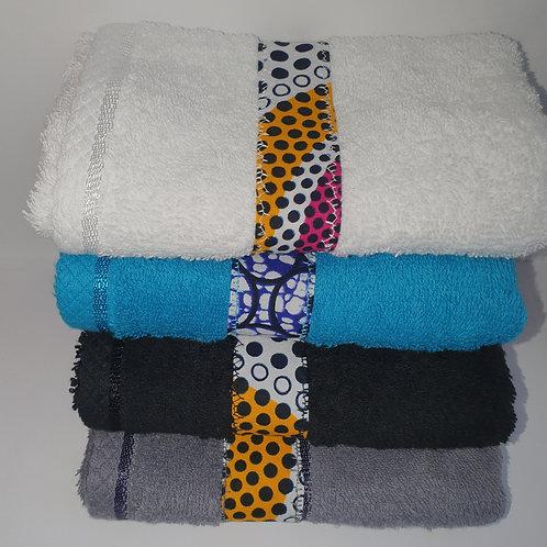Hand towel - Regular absorbance hand made ankara trimmed