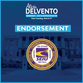 Firemen & Oilers, Local 3, SEIU - Endorse Alicia DelVento