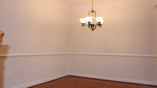 Crown Molding & Baseboard Paint
