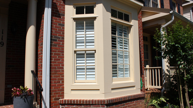Window Trim Repair & Paint