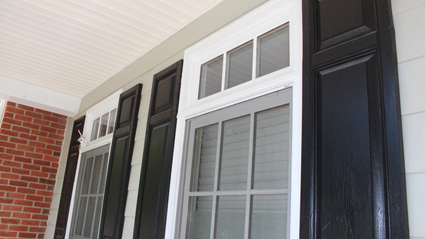 Window Trim & Shutter Paint