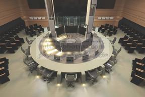 Выбор напольного покрытия для конференц-зала. Что необходимо знать при выборе материала