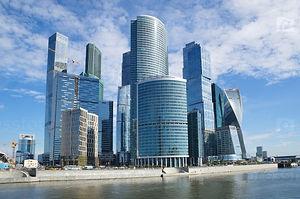 Дизайнофиса в Москва Сити