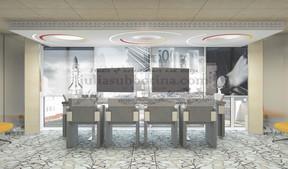 Дизайн банков, офисов, коворкингов... - работа над брендом компании