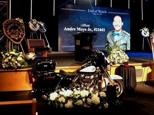 Police Officer Andre Moye