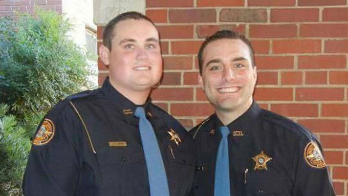Police Officer Nicholas Snarr and Public Safety Officer Jody Smith