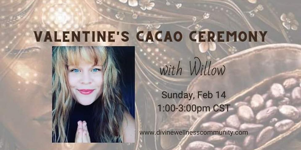 Virtual Valentine's Cacao Ceremony