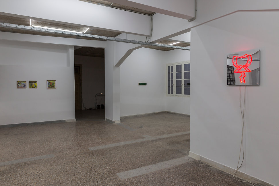 09_Pet Cemetery, 2019, Installation View