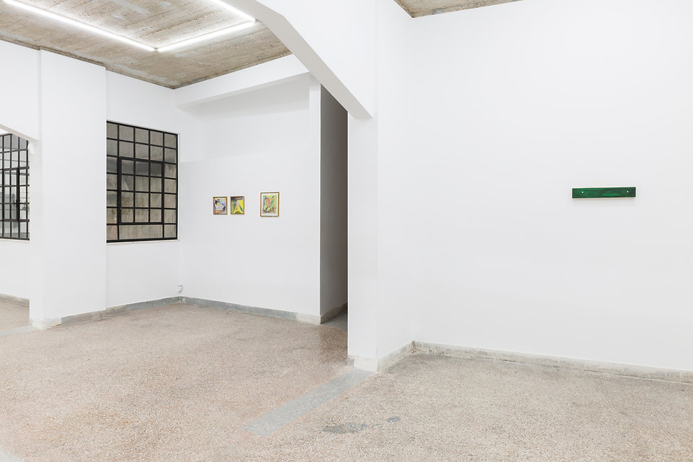 03_Pet Cemetery, 2019, Installation View