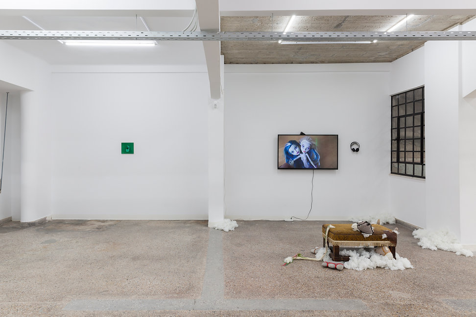 17_Pet Cemetery, 2019, Installation View