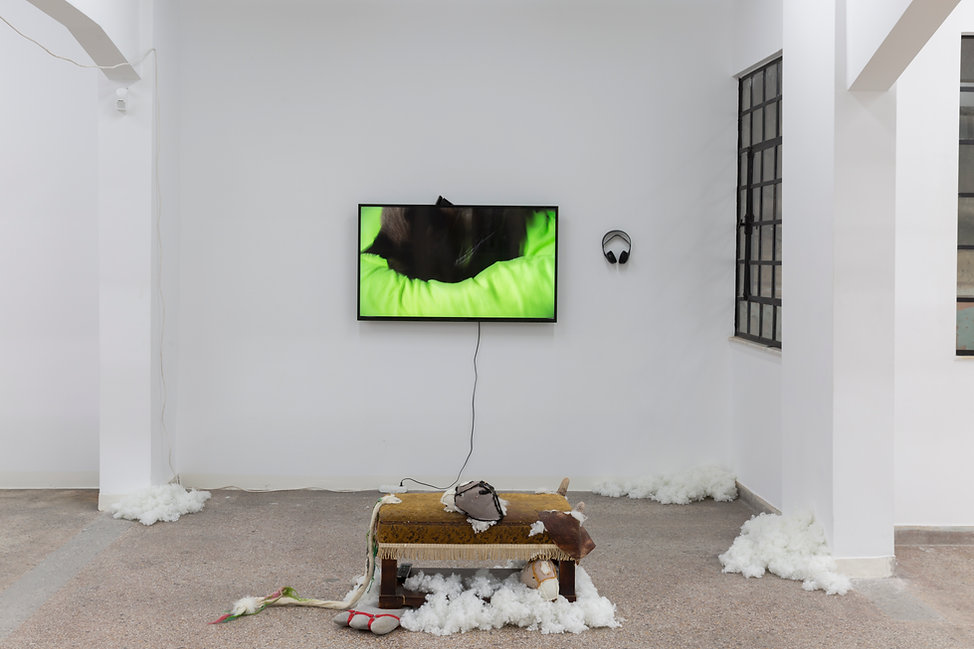 19_Pet Cemetery, 2019, Installation View