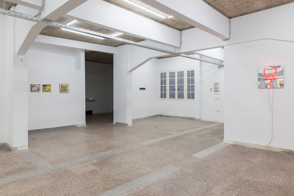 02_Pet Cemetery, 2019, Installation View